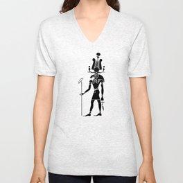 Khensu - God of ancient Egypt Unisex V-Neck