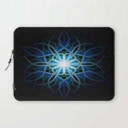 Mandala 3 - River Flower Laptop Sleeve