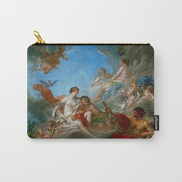 "François Boucher ""Vulcan Presenting Venus with Arms for Aeneas"" Carry-All Pouch"