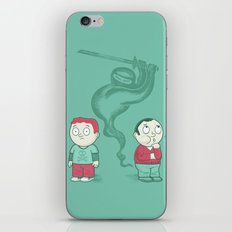 Silent and Deadly iPhone & iPod Skin