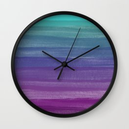 The Purple Dream Wall Clock