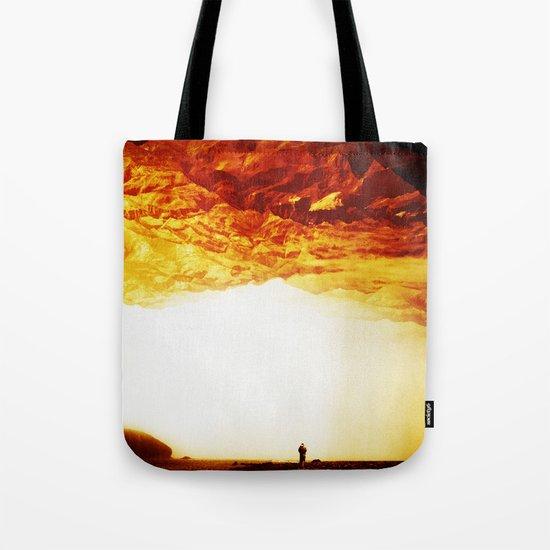 Gold Greed Tote Bag