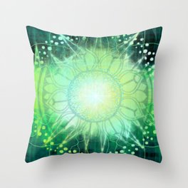 Anahata - Chakra 4 Throw Pillow