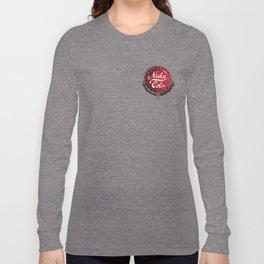 Nuka-Cola Bottlecap Fan Art Design Long Sleeve T-shirt