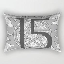 SPN Print (Grey) Rectangular Pillow