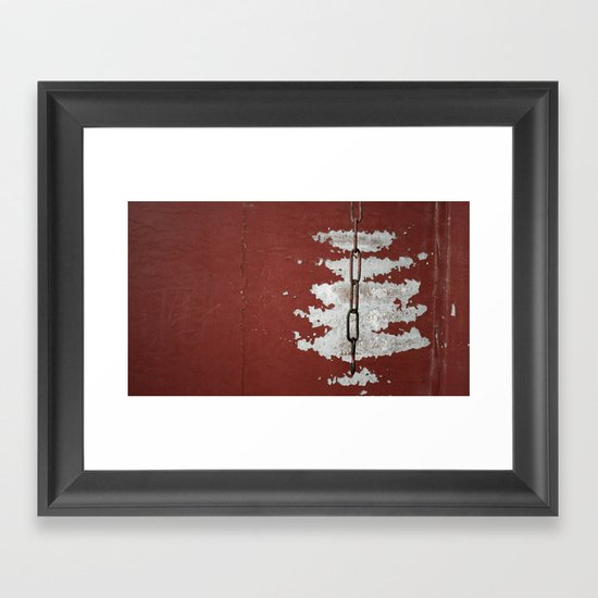 Links Framed Art Print