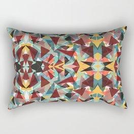 Kaleidoscope Craziness Rectangular Pillow