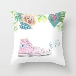 Sneaker II Throw Pillow