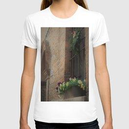 Christmas Window Ferrara Italy T-shirt