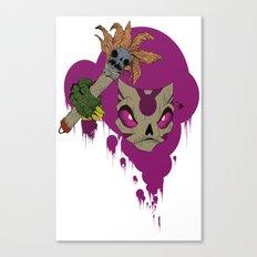 #^$&ing Voodoo Magic Canvas Print