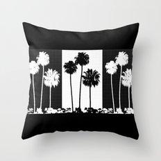 Palm Tree Pattern Throw Pillow