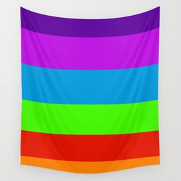 Fluorescent Rainbow |7 Colours Wall Tapestry