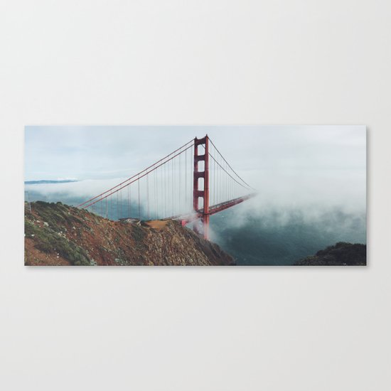 California Bridge photo Canvas Print