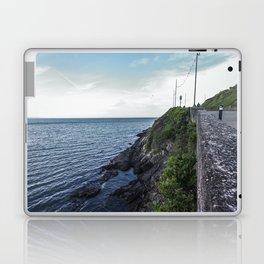 Along the sea in Ireland Laptop & iPad Skin