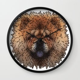 Chow Wall Clock