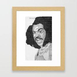 Sho'Nuff. Framed Art Print