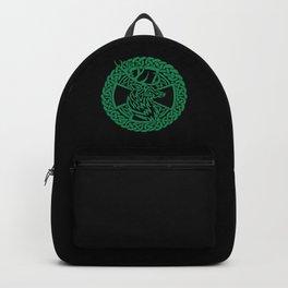 Celtic Nature Deer Backpack