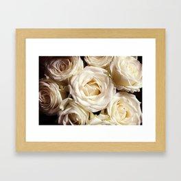 Rose print Boho photography Flower bedroom decor botanical Flowers gift for sister Framed Art Print