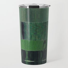 green scan Travel Mug