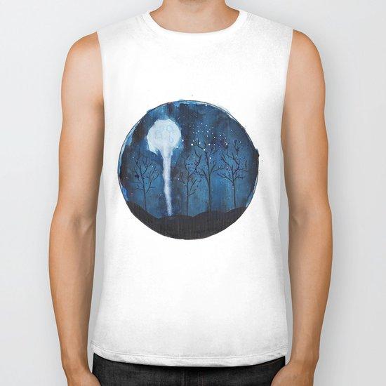 Moon light  Biker Tank