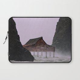 Stormy Weather on the Coast Laptop Sleeve