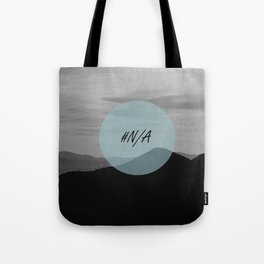 Fine mountains lines - #N/A Tote Bag