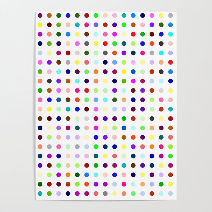 Big Hirst Polka Dot Poster