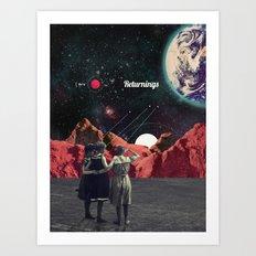 Returnings Art Print