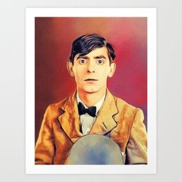 Eddie Cantor, Vintage Entertainer Art Print