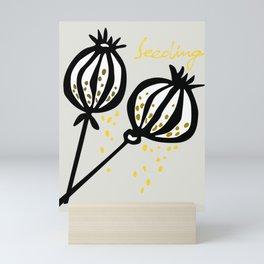 seeding Mini Art Print