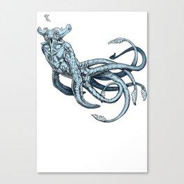 Sea Emperor Transparent Canvas Print