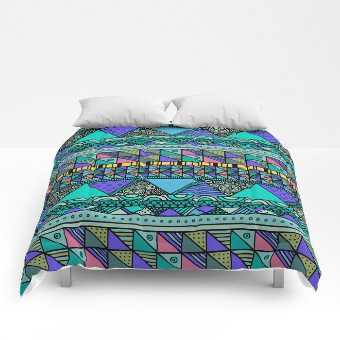 'Georganic no.6' Comforters