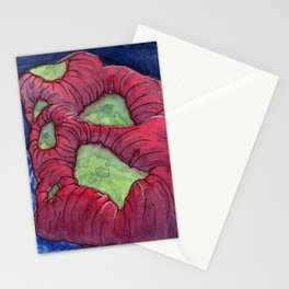 Kryptonite Coral Stationery Cards