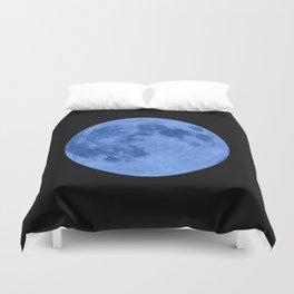 MOON GLOW BLUE Duvet Cover