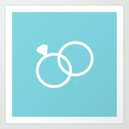 Wedding Ring Art Print