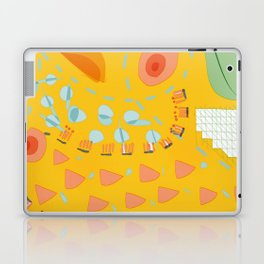 Yellow sunshine darling | Home decor | Happy art Laptop & iPad Skin
