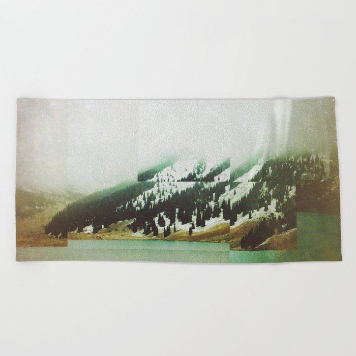 Fractions A72 Beach Towel