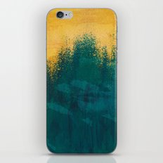 Gold Rush Peacock iPhone & iPod Skin