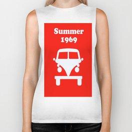 Summer 1969 - red Biker Tank