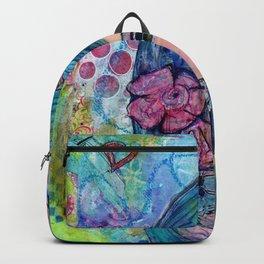 Peyton Whimsical Face Backpack