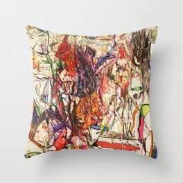 Smoke & Feng Shui Throw Pillow