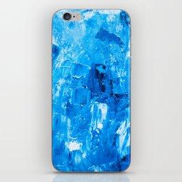 Marine oil art pattern iPhone Skin