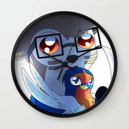 SN: Second birthday Wall Clock
