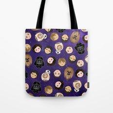 Stars w pattern Tote Bag
