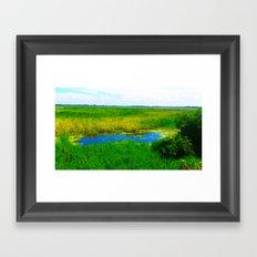 Tembladeras Framed Art Print