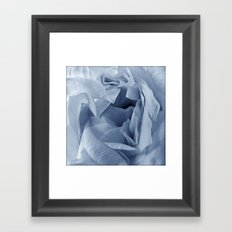 'FOLDING PETALS' Framed Art Print