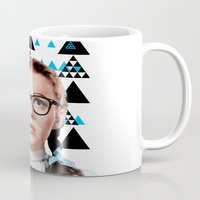 dorothy Mugs featuring Future Dorothy by Xanthe Simmans