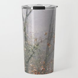 """""""Into the woods VII"""". Wandering into the fog Travel Mug"""