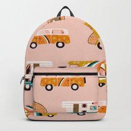 Retro Road Trip – Pink Palette Backpack