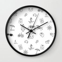 066 Travel Wall Clock